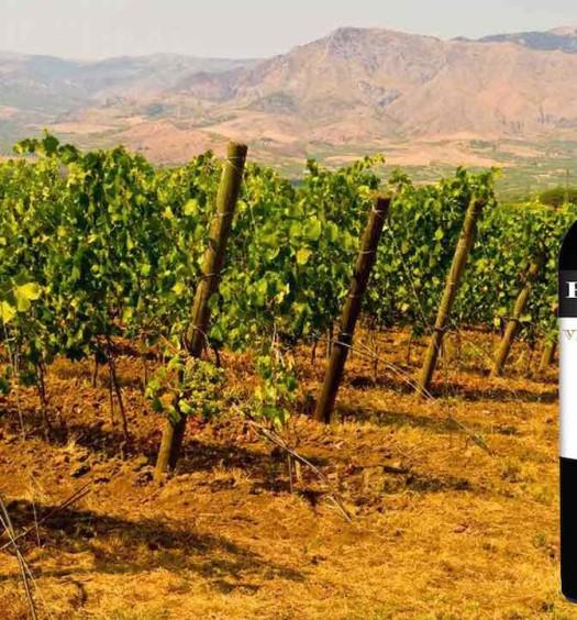 Bottle of Cantine Florio Marsala, a Sicilian dessert wine