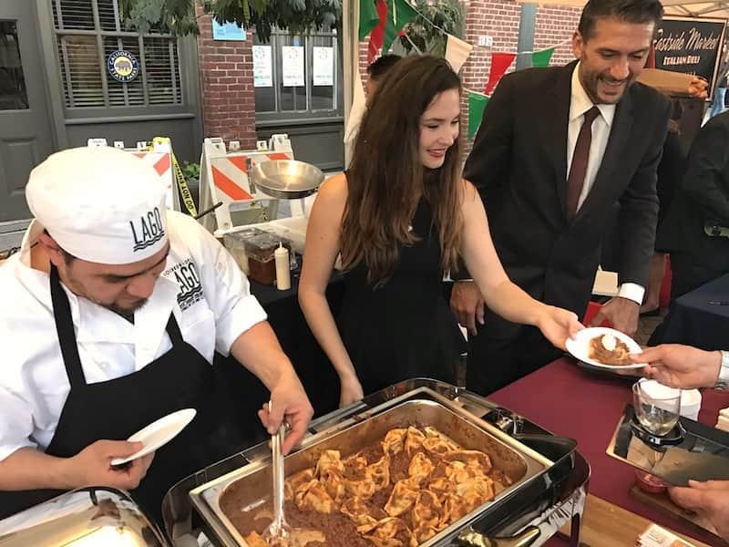 Locanda del Lago from Santa Monica at the Taste of Italy Los Angeles 2016