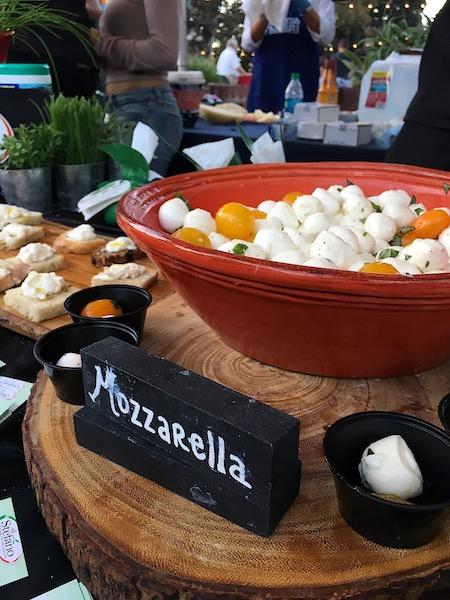 Mozzarella at Taste of Italy Los Angeles 2016