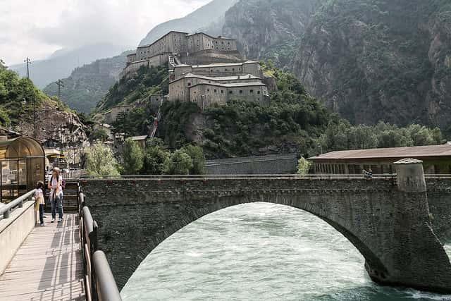 region of torrette valle d'aosta
