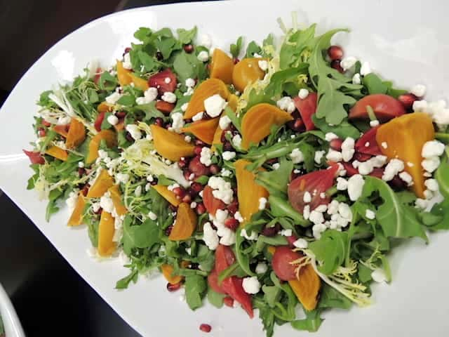 Beet Salad prepared by Gianbattista Vinzoni